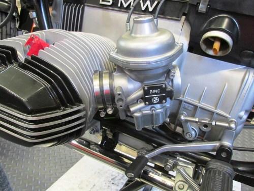 Carburetor Inserted Inside Intake Spigot Rubber Bushing