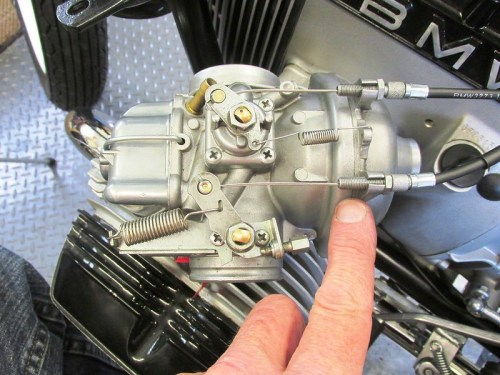 Carburetor Throttle Cable Adjuster