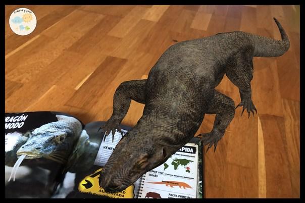 Reseñas de los libros iExplore. Depredadores y iExplore. Animales extintos