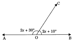 MCQ Questions for Class 9 Maths Chapter 6 Lines and Angles with Answers 11