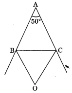 MCQ Questions for Class 9 Maths Chapter 6 Lines and Angles with Answers 1