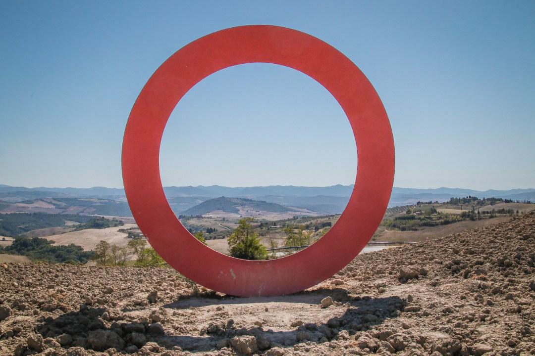 Land Art di Mauro Staccioli a Volterra