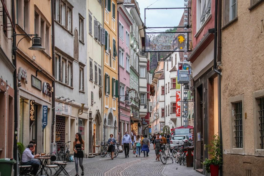 Via dei Bottai, Bolzano