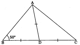 MCQ Questions for Class 9 Maths Chapter 7 Triangles with Answers 5