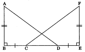 MCQ Questions for Class 9 Maths Chapter 7 Triangles with Answers 7