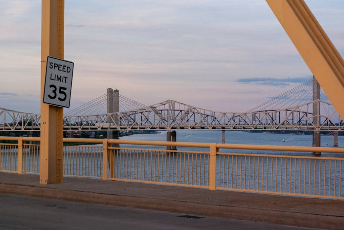 The George Rogers Clark Memorial Bridge