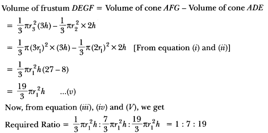 Surface Areas and Volumes Class 10 Extra Questions Maths Chapter 13 with Solutions Answers 103