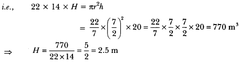 Surface Areas and Volumes Class 10 Extra Questions Maths Chapter 13 with Solutions Answers 32