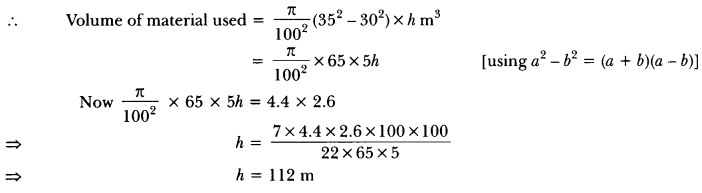 Surface Areas and Volumes Class 10 Extra Questions Maths Chapter 13 with Solutions Answers 19