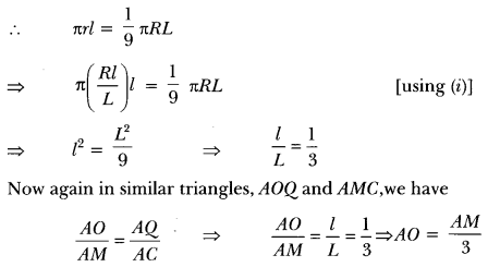 Surface Areas and Volumes Class 10 Extra Questions Maths Chapter 13 with Solutions Answers 92