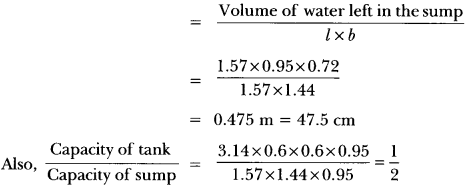 Surface Areas and Volumes Class 10 Extra Questions Maths Chapter 13 with Solutions Answers 77