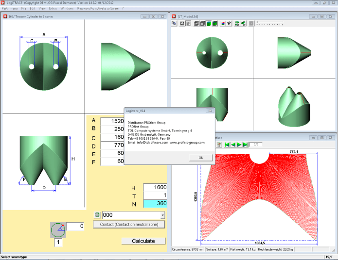 Working with LogiTrace V14 14.2.2 full