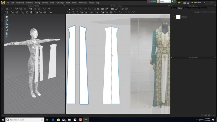 Working with Marvelous Designer 9 Enterprise 5.1 full