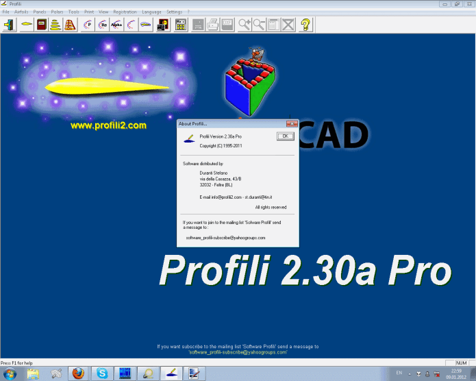 Working with Profili 2.30a Pro full