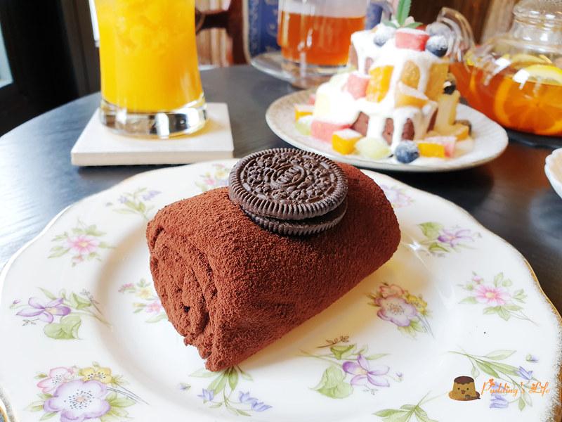 新竹下午茶│tiny house小房子》毛巾捲蛋糕.巷子裡超低調咖啡甜點 @ Pudding's Life :: 痞客邦