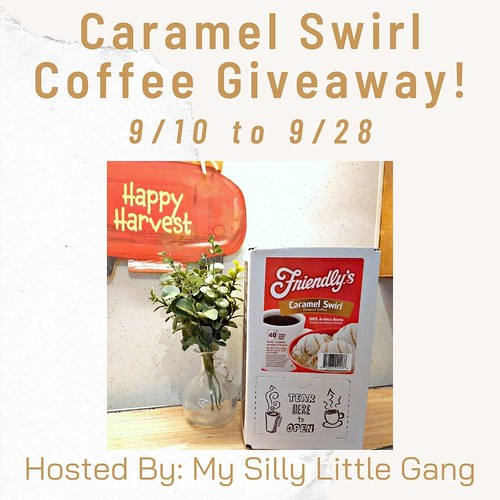 Caramel Swirl Coffee Giveaway ~ Ends 9/28 @tworiversco #MySillyLittleGang