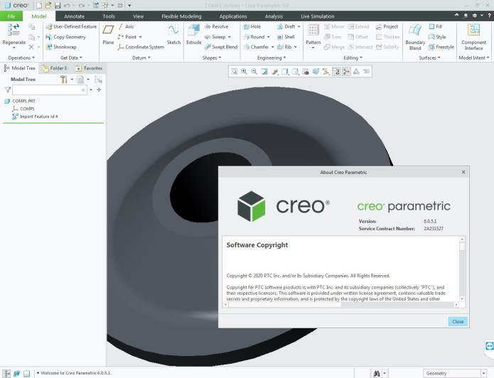 Working with PTC Creo 6.0.5.1 full