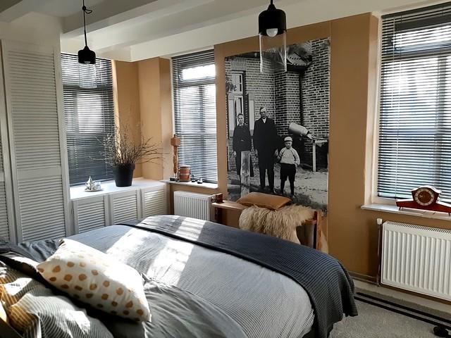 Slaapkamer landelijk met kleur