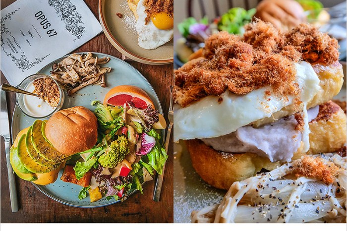 台中北區早午餐   Opus 67,老宅改造,專賣早午餐、輕食、飯食,Overture序曲新品牌餐廳。