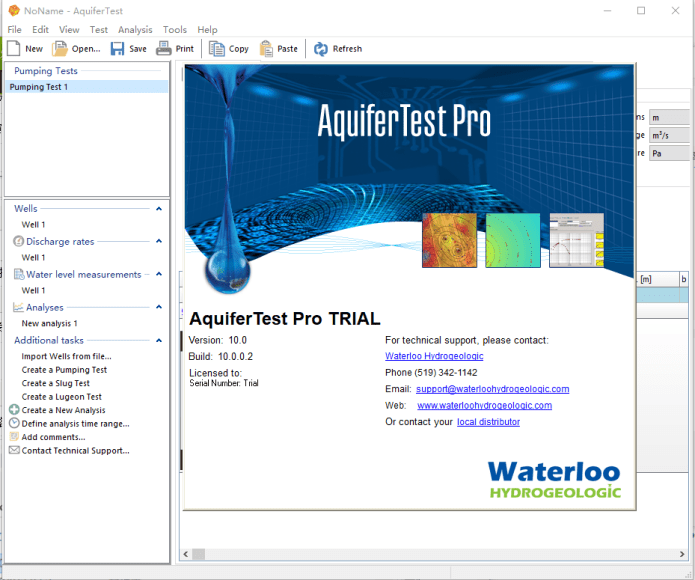 Working with Schlumberger AquiferTest Pro v10.0.0.2 full