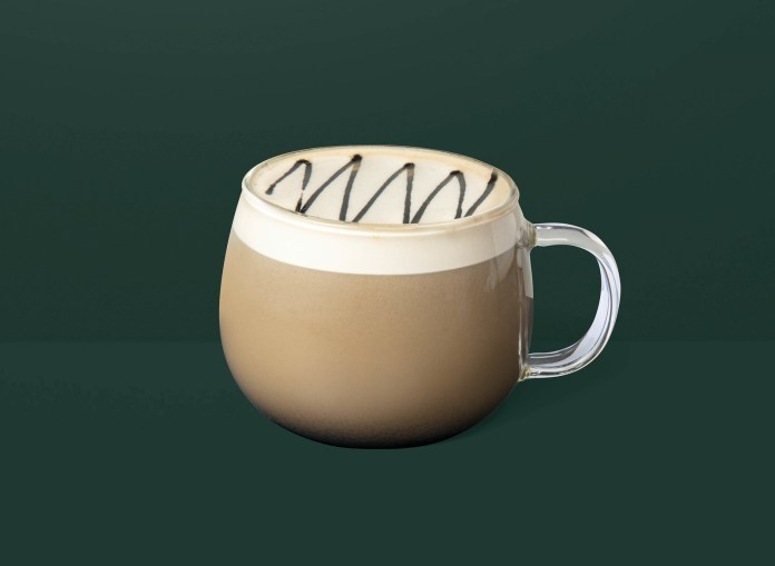 Starbucks_Soymilk Sesame Latte 港澳星巴克