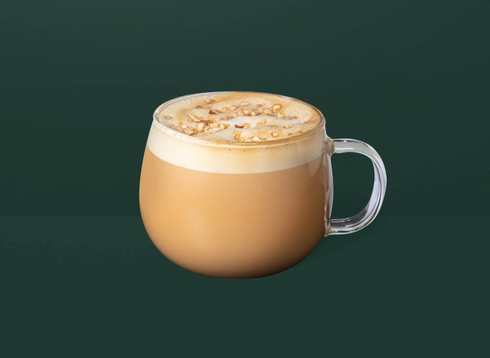 Starbucks_Almondmilk Nutty Latte 港澳星巴克