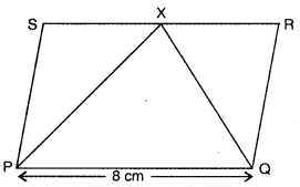Areas of Parallelograms and Triangles Class 9 Extra Questions Maths Chapter 9 with Solutions Answers 20
