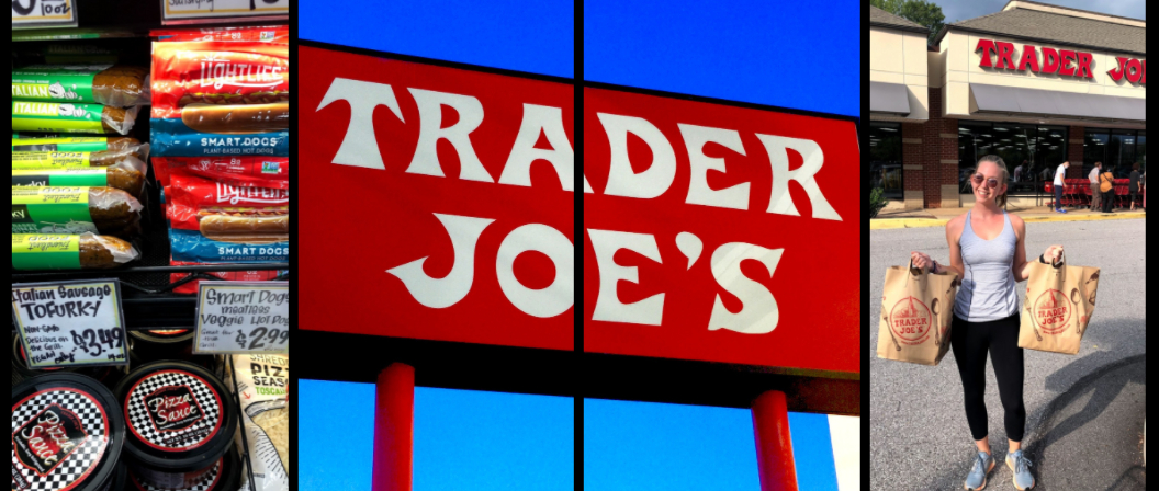 Trader joes article horizontal collage