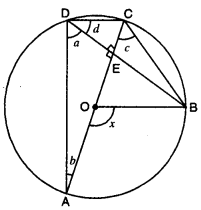 Circles Class 9 Extra Questions Maths Chapter 10 with Solutions Answers 17