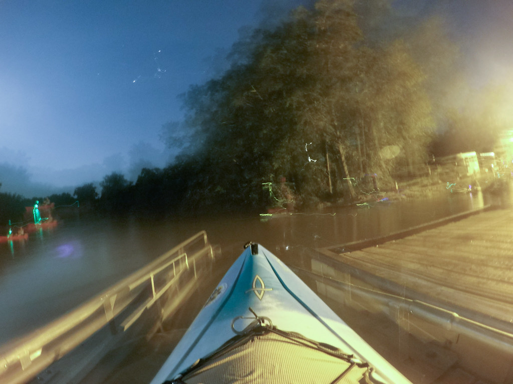 Moonlight Paddle on the Saluda River-1