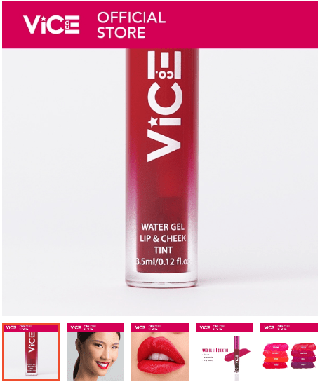 Vice Co Water Gel Lip and Cheek Tint Kyondi 3.5ml
