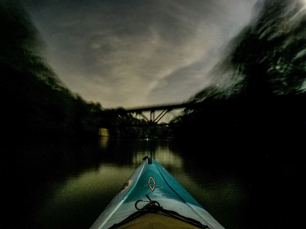Moonlight Paddle on the Saluda River-17