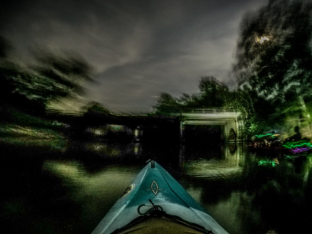 Moonlight Paddle on the Saluda River-14