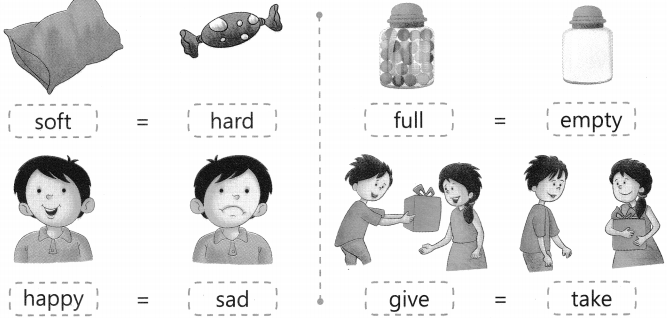 Opposite Words Worksheet Exercises for Class 2 Examples with Answers CBSE