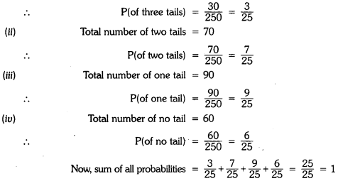Probability Class 9 Extra Questions Maths Chapter 15 with Solutions Answers 6