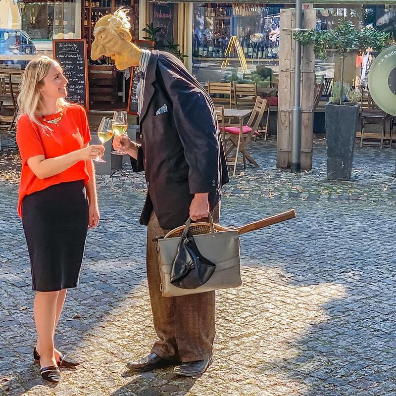 Theresa Zwicker und Arnold Böswetter