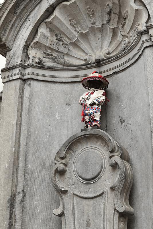 Manneken Pis de Bruselas 4