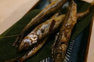 烤柳葉魚   li-penny   Flickr