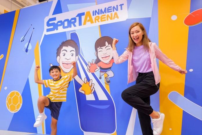 NAMCO 「SPORTAINMENT ARENA」 運動遊樂競技場10月登場