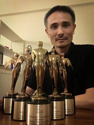 元智大學資傳系助理教授張世明,榮獲2020泰利獎六項大獎。