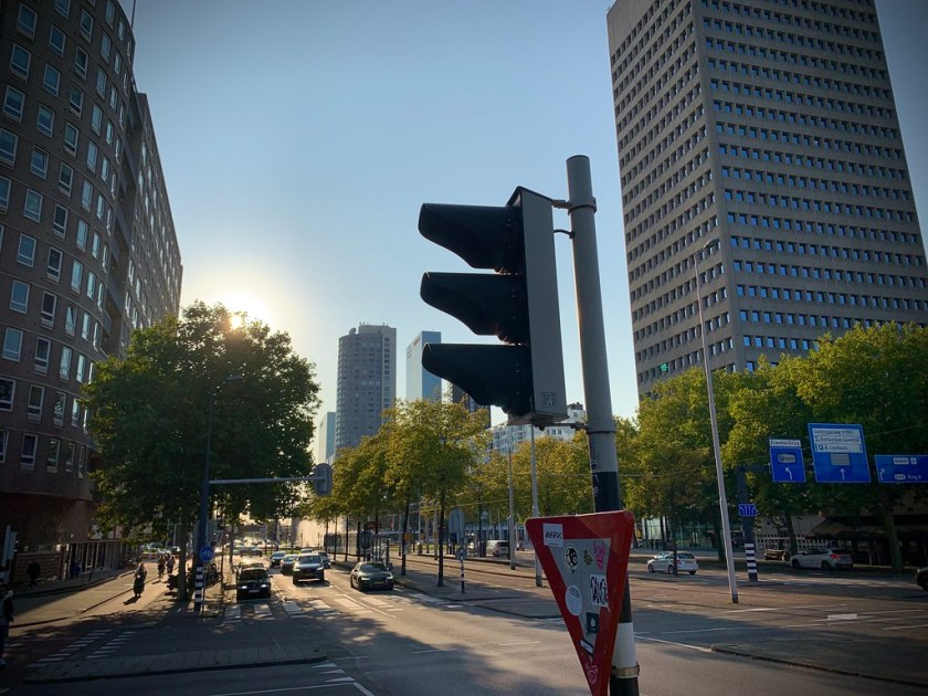 Rotterdam Daily Photo: End of shift, walking home