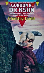 CHANTRY GUILD by Gordon R. Dickson. Sphere 1989. 428 pages.