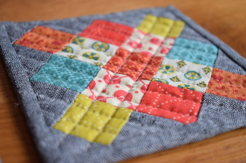 Granny Square Coaster Tutorial
