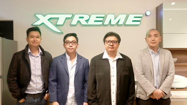 Stephen Cheng (Head of Marketing). Kevin Richard Lim (Vice President), Richard Lim (President and CEO), Adrian Lim (General Manager)