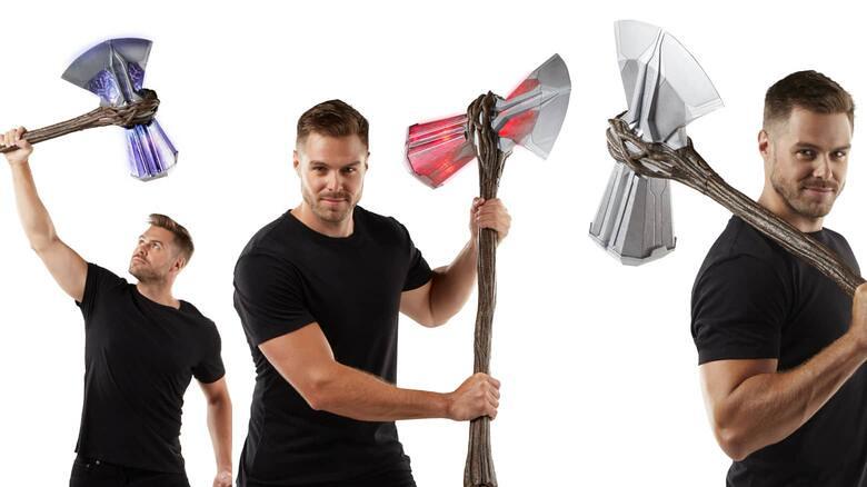 孩之寶 漫威傳奇收藏道具推出1:1比例「風暴毀滅者」戰鎚斧! - 玩具 - 孩之寶