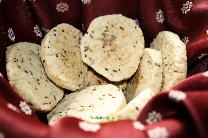 Cumin Cookies – Jeera Biscuits