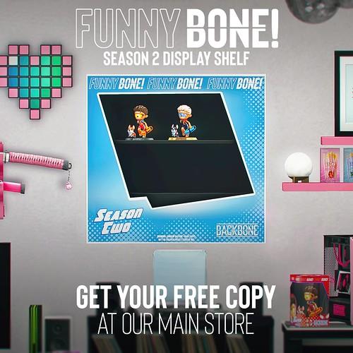 BackBone FunnyBone Season 2 Shelf