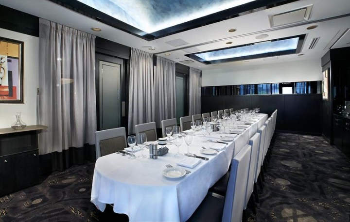 Morton's Private Dining Rooms A&B - Long Dinner Table
