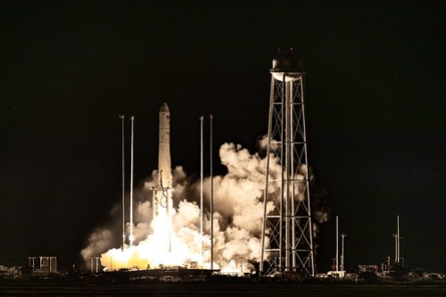 Antares Rocket Launch Oct. 2, 2020