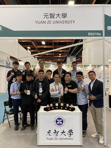 元智大學機械系教授鐘國濱,以「醫療氣液體供應系統」獲得鉑金獎最高殊榮